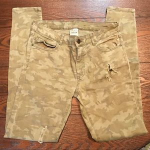 Camouflage ZARA Skinny Pants - Sz. 6